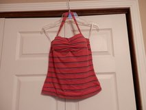 Red Halter top in Fort Riley, Kansas